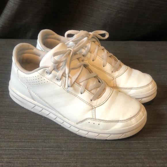 Adidas AltaSport K White/White Trainers Sneakers